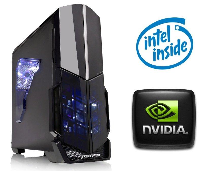 Image of Cyberpower Gaming Warfare 710 PC, Intel Pentium Dual Core (Skylake) G4400 3.3GHz, 4GB RAM, 1TB HDD, No-DVD, NVIDIA GT710 2GB, WIFI, No Operating System