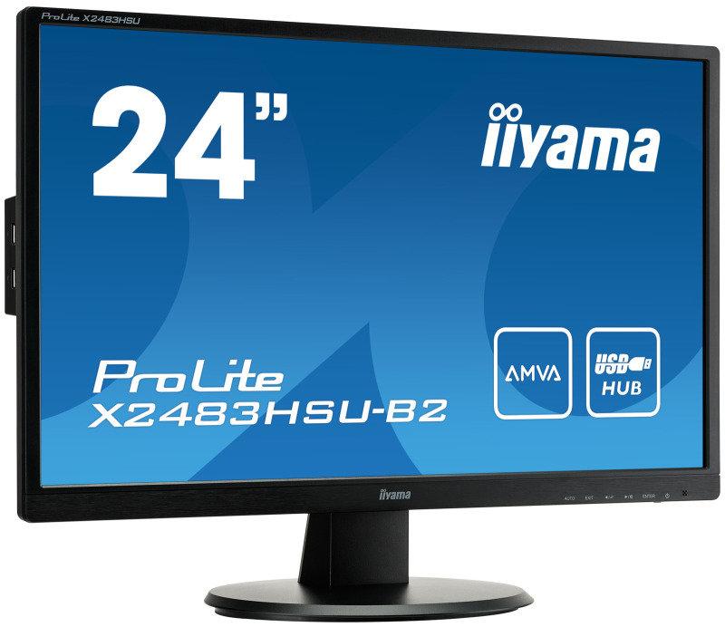"Iiyama X2483HSU-B2 23.8"" Full HD LED Monitor"
