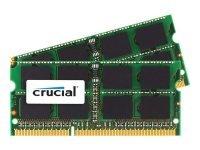 Crucial 16GB (2x8GB) DDR3L-1866 PC3-14900 SO-DIMM Kit