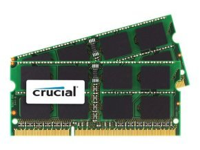 Crucial 8GB (2x4GB) DDR3L SDRAM - SO-DIMM 204-pin PC3L-14900 - CL13 Memory