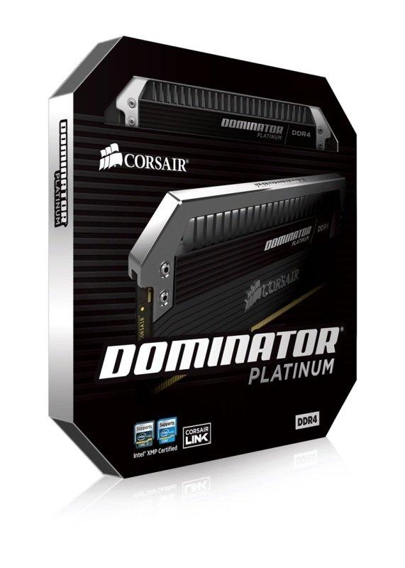 Corsair Dominator Platinum Series 32GB (4 x 8GB) DDR4 DRAM 3200MHz C16 Memory Kit
