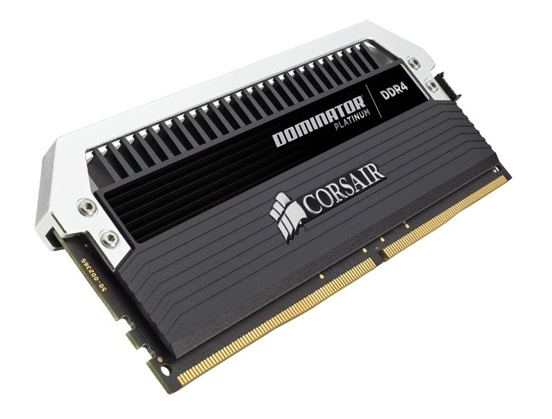 Corsair Dominator Platinum Series 64GB (4 x 16GB) DDR4 DRAM 266MHz C15 Memory Kit