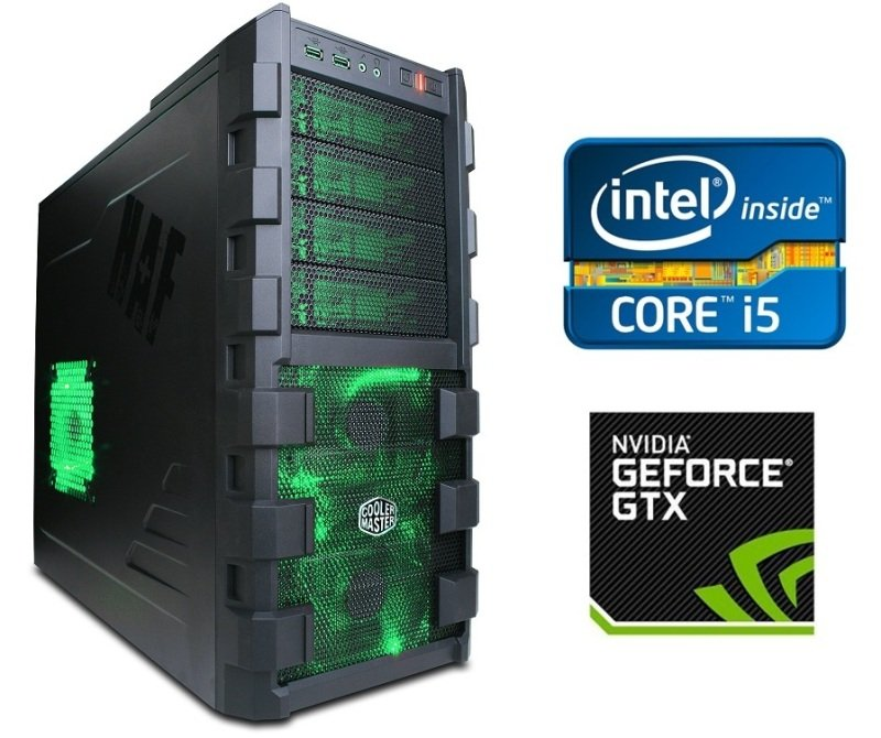 Image of Cyberpower Gaming Warfare 980 II PC Intel Core i5-6500 3.2GHz, 16GB RAM, 1TB HDD, No-DVD, NVIDIA GTX980 4GB, Windows 10 64bit