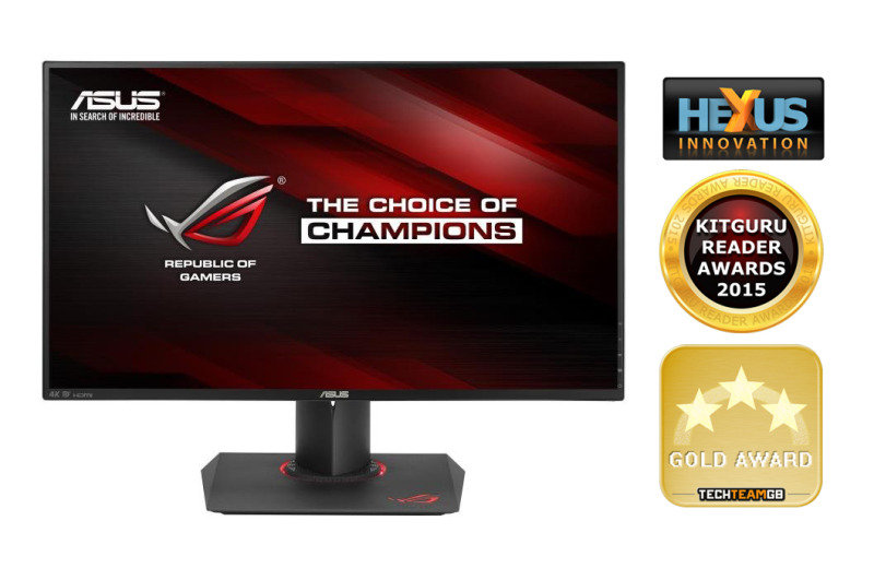 "Asus PG279Q 27"" ROG Swift 165Hz G-Sync Gaming..."