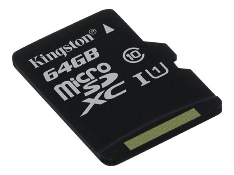 Kingston Technology 64GB microSDXC UHS-I Memory Card