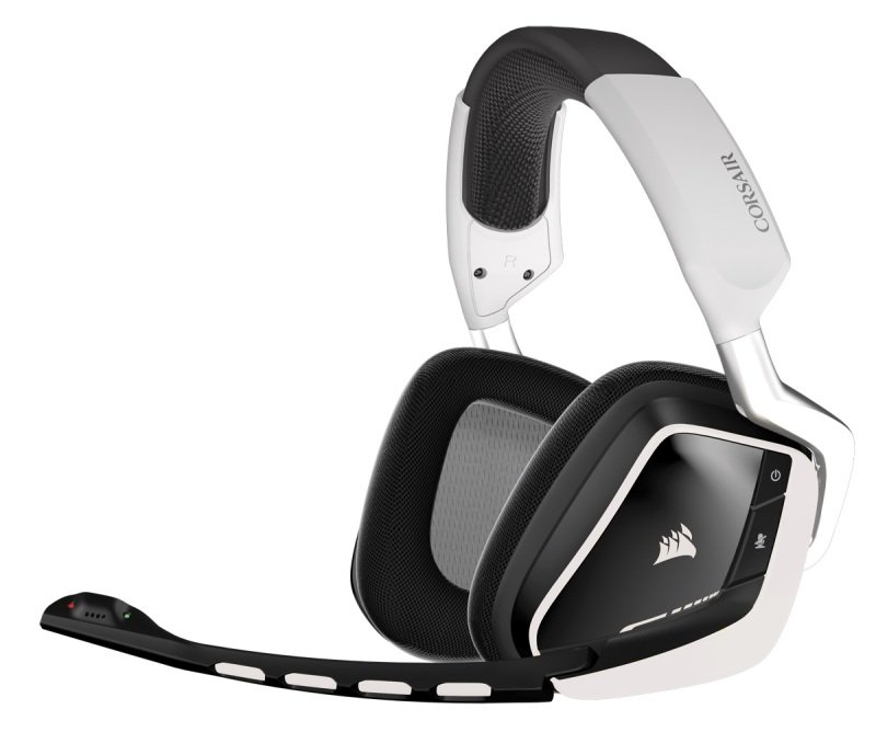 Image of Corsair Gaming VOID Wireless RGB Gaming Headset White