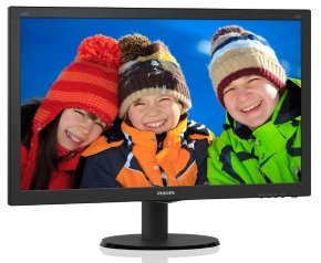 "Philips 240V5QDSB/00 23.8"" Full HD IPS Monitor"
