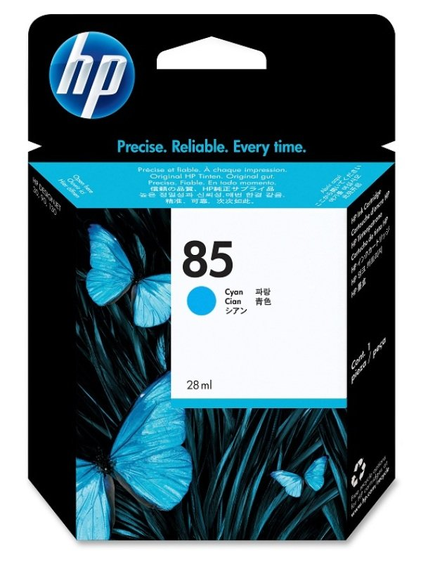 *HP 85 28ml Cyan DesignJet Ink Cartridge - C9425A