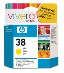*HP 38 Yellow Pigment Original Ink Cartridge - C9417A