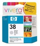 HP 38 27ml Pigmented Light Grey Ink Cartridge - C9414A