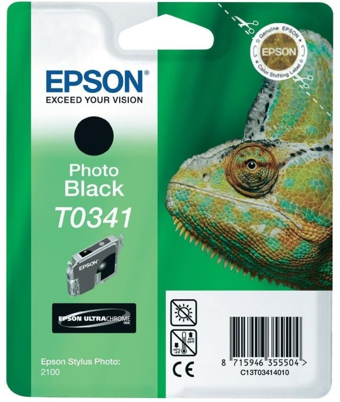 *Epson T0341 Black Ink Cartridge