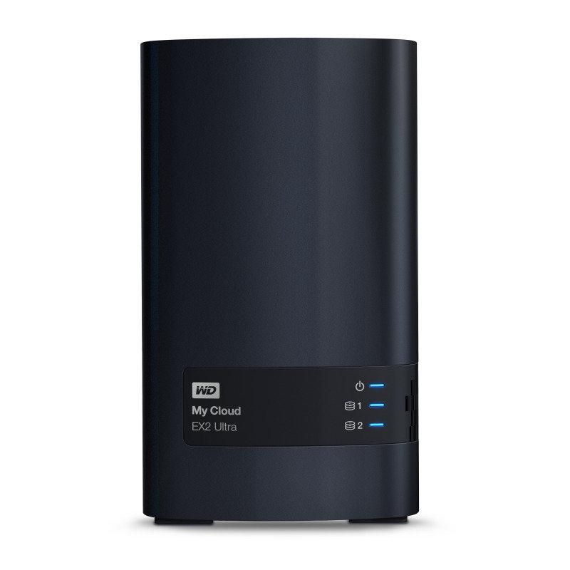 WD My Cloud EX2 Ultra 8TB 2-Bay Pre-configured NAS