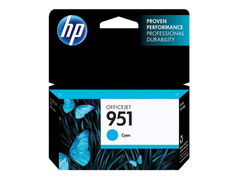 HP Ink951 Cyan Officejet Cartridge