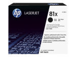 HP 81X Black High Yield LaserJet Toner Cartridge - CF281X
