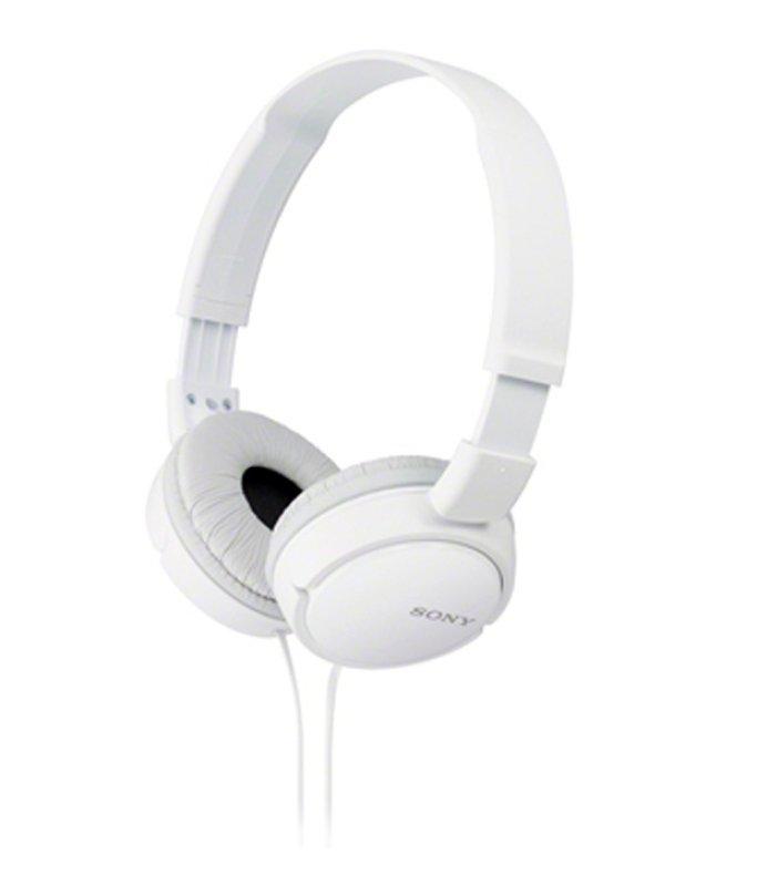 Sony MDRZX110W Overhead Headphones - White