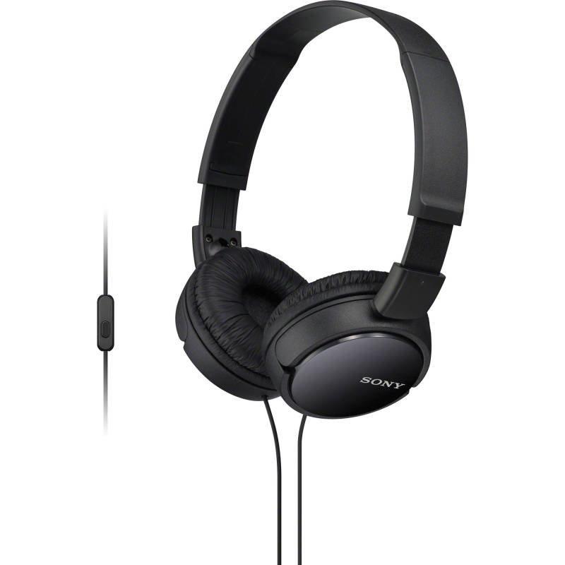 Sony Overhead Headphones Mobile - Black