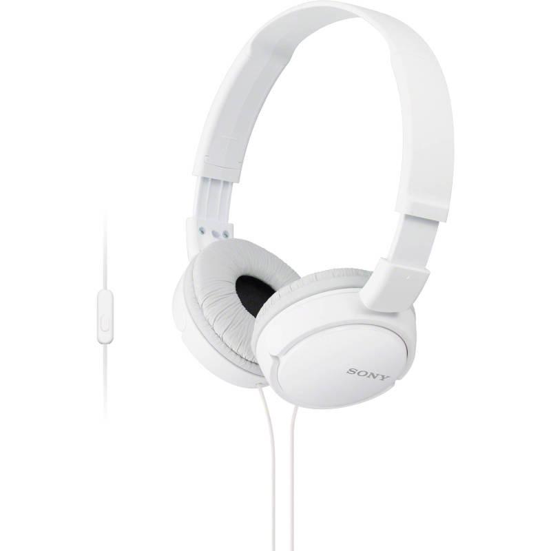 Sony MDRZX110APW Overhead Headphones Mobile - White