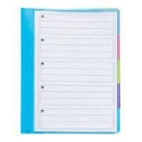 Rexel JOY 5 Part File Multi-Coloured