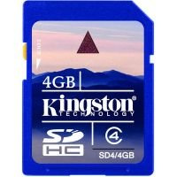 Kingston 4GB Secure Digital High Capacity Card