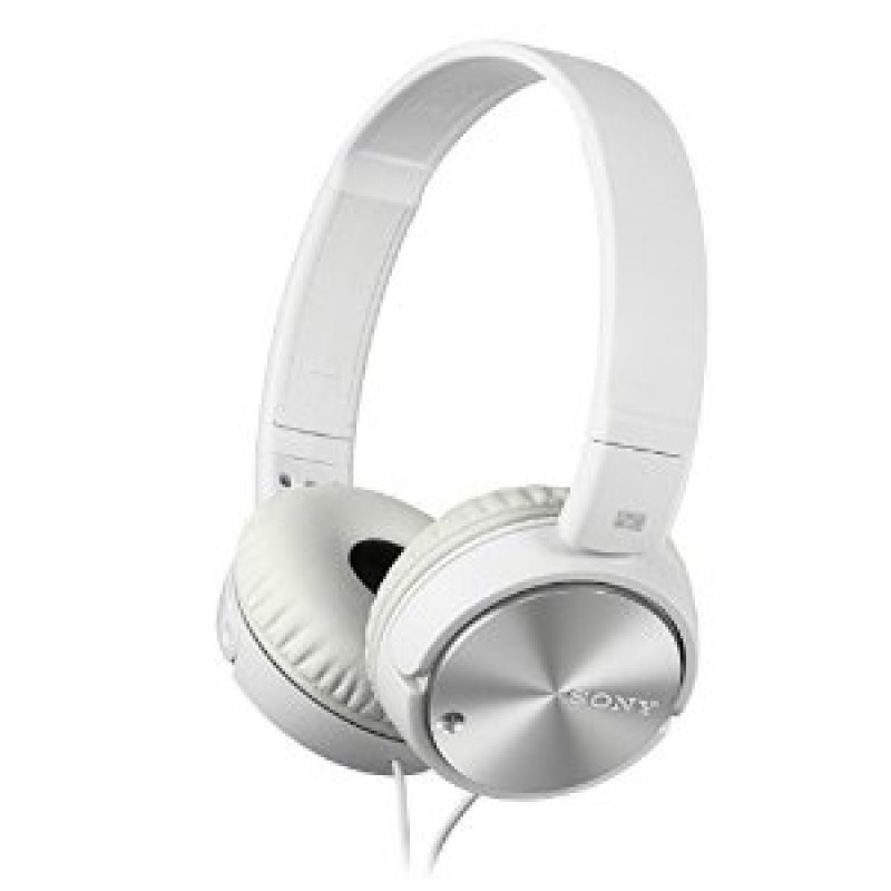 Sony MDRZX110NAW Noise Cancelling Headphones - White