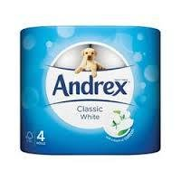 Andrex Toilet Roll Classic White Pk 6x4