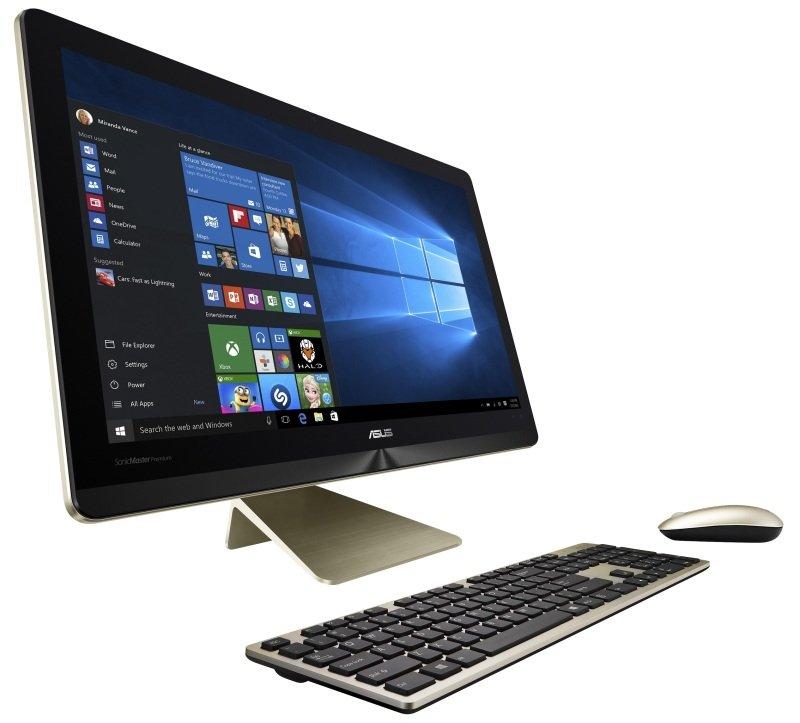 Asus Zen Pro Z240ICGT AIO Desktop, Intel Core i7-6700T 2.8GHz, 16GB RAM, 1TB HDD, 128GB SSD,  23.8 FHD Touch, No-DVD, NVIDIA GTX960M, WIFI, Windows 10 64bit