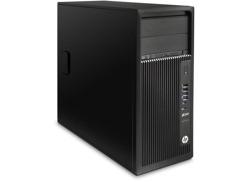 HP Z240T 8GB  Intel Xeon E31245V5  3.5 GHz 1TB HDD Tower Workstation