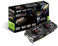 Asus GeForce GTX 970 Strix DirectCU II OC 4GB GDDR5 Dual DVI HDMI DisplayPort PCI-E Graphics Card