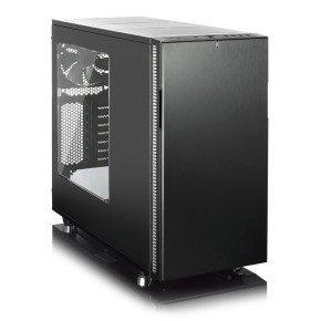 Fractal Design Define R5 Blackout Edition Computer Case With Side Window