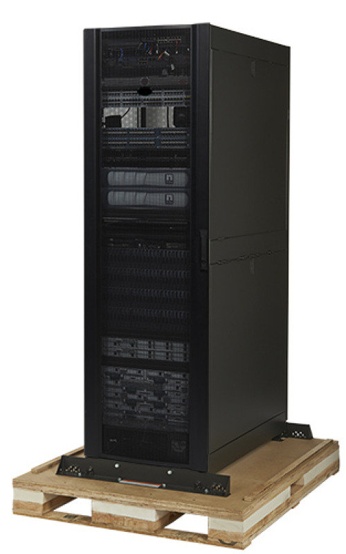 NetShelter SX 48U 600mm Wide x 1070mm Deep Enclosure with Sides Black