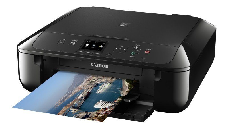 Canon PIXMA MG5750 MultiFunction Inkjet Printer  Black Version