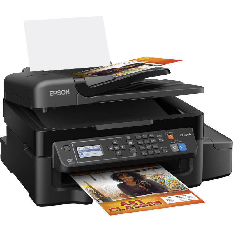 Epson EcoTank ET-4500 All-in-one Multi-Function Inkjet Printer