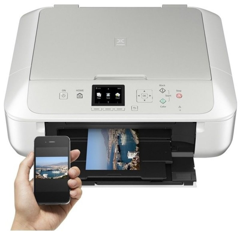 EXDISPLAY Canon PIXMA MG5750 Multi-Function Inkjet Printer - White Version