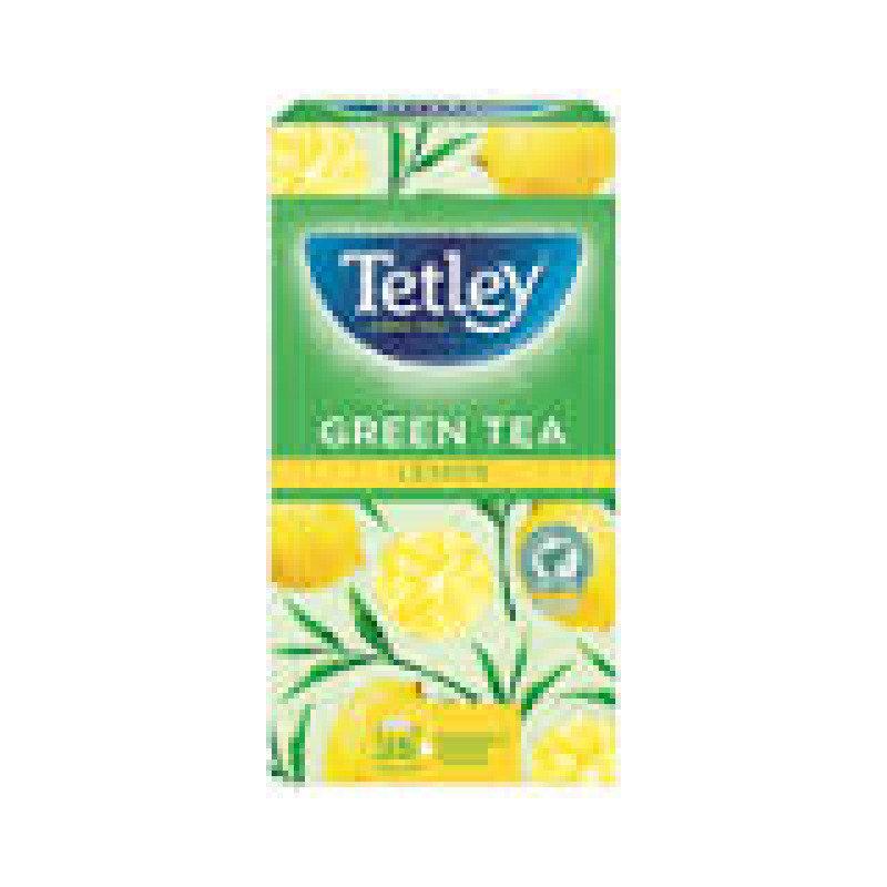 Tetley Green Tea with Lemon Tea Bags Pack of 25
