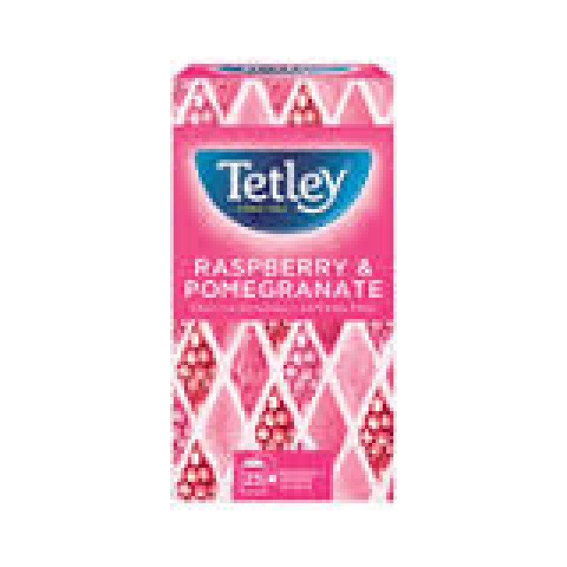 Tetley Raspberry and Pomegranate Tea Bags Pack of 25