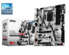 EXDISPLAY MSI Z170A Xpower Gaming Titanium Edition Socket LGA1151 HDMI DisplayPort 7.1-Channel HD Audio ATX Motherboard