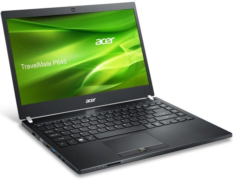 "Image of Acer Travelmate P645-M Laptop, Intel Core i3-4005U 1.7GHz, 4GB RAM, 500GB HDD, 14"" LED, No-DVD, Intel HD, Webcam, Bluetooth, Windows 7 + 8.1 Pro"