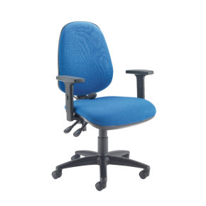 Capella Intro Posture Chair With Lumbar Support Blue