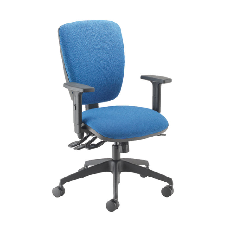 Image of Cappela Petite Posture Chair Square Back Blue