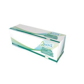 2Work Whiteboard Eraser Refill Pads (Pack of 10)