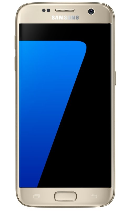 Samsung S7 Flat  Gold