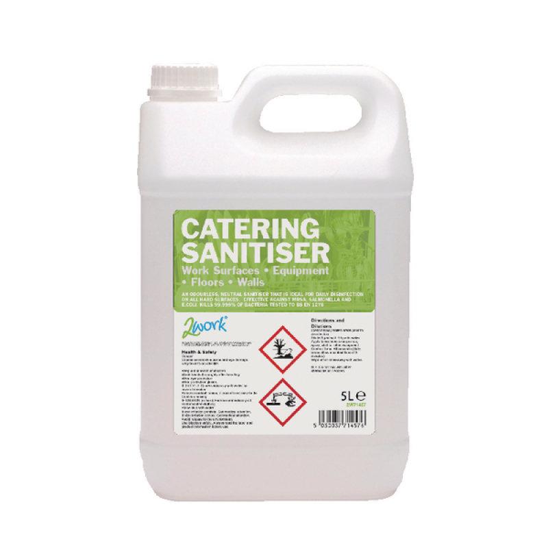 2Work Catering Sanitiser 5 Litre