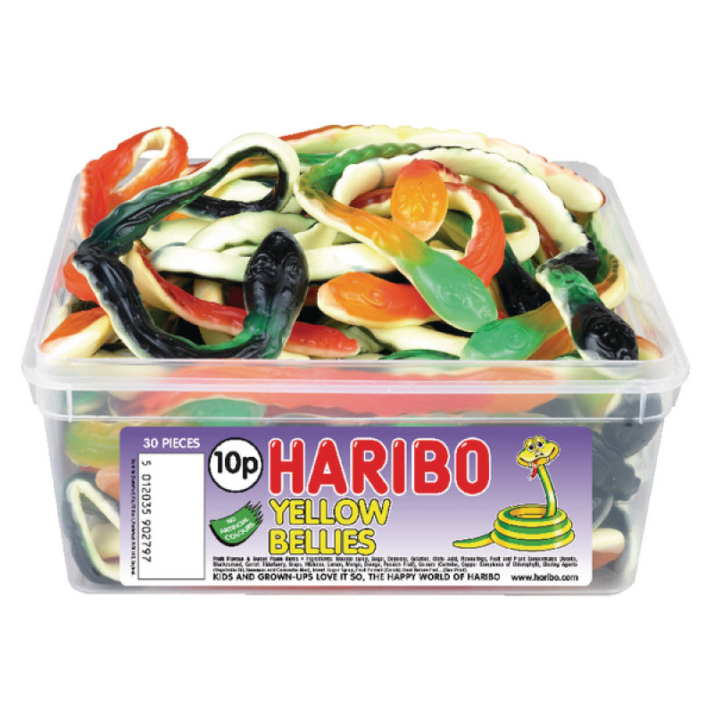 Image of Haribo Giant Yellow Bellies