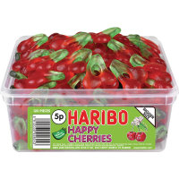 Haribo Giant Happy Cherries Tub
