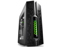Deepcool Genome PC Case with Liquid Cooling - Green