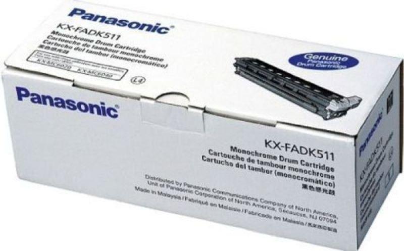 Original Panasonic Black Laser Toner Cartridge (KX-FADK411X) (265738)
