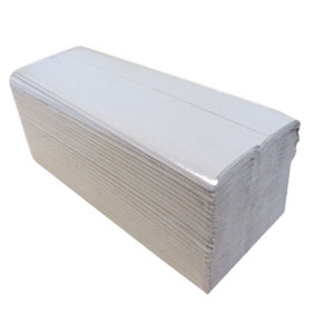 2Work C Fold Hand Towel 1 Ply Natural