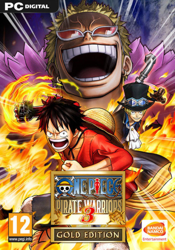 One Piece Pirate Warriors 3  Gold Edition  Age Rating12 (pc Game)