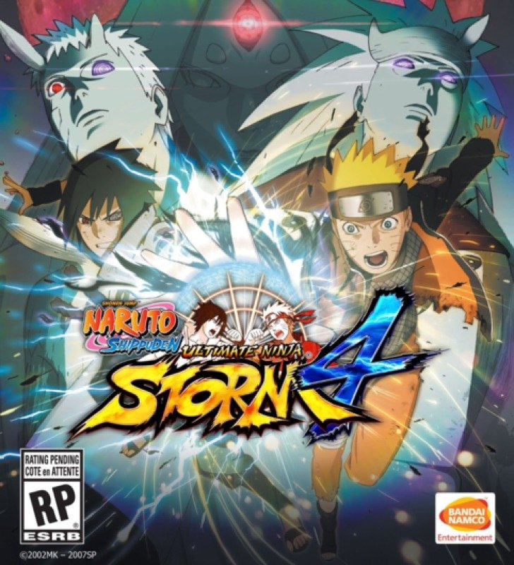 Naruto Shippuden Ultimate Ninja Storm 4 - Deluxe Edition  (pc Game)