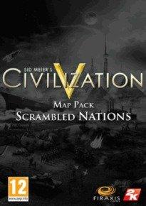 Sid Meier's Civilization V Map Pack: Scrambled Nations (dlc) - Age Rating:18 (pc Game)